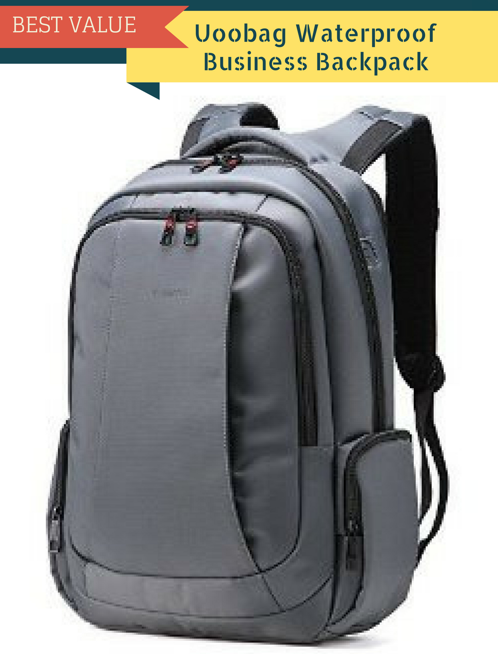 Uoobag Waterproof Business Backpack
