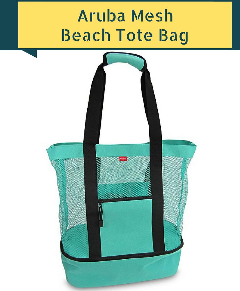 Aruba Mesh Beach Tote Bag