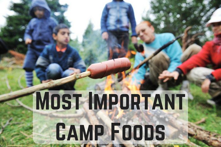 Most Important Camp Foods
